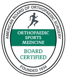 American Board of Orthopaedic Sports Medicine - Board Certified